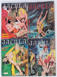 Jacula Italian Fumetti Comic Multiple Boxes Group (1969-82) Condition: Average GD/VG.... (Total: 2 Box Lots)