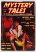 Pulps:Horror, Mystery Tales - September 1938 (Red Circle) Condition: GD....