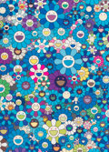 Prints:Contemporary, Takashi Murakami (b. 1962). An Homage to Monogold 1960 C; AnHomage to Yves Klein Multicolor C; An Homage to Monopink 1960...(Total: 4 Items)