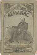 Political:Small Paper (pre-1896), Henry Clay: 1844 Whig Almanac....
