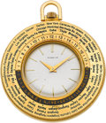 Timepieces:Pocket (post 1900), Gubelin World Time Pocket Watch. ...