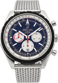 Timepieces:Wristwatch, Breitling Chrono-Matic 49 Chronograph Certified Chronometer Bracelet Wristwatch. ...