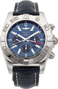 Timepieces:Wristwatch, Breitling Chronomat GMT Certified Chronometer ChronographWristwatch. ...