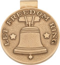 Political:Presidential Relics, Dwight D. Eisenhower: Tiffany Liberty Bell Gold Money Clip....