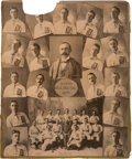Baseball Collectibles:Photos, 1899 Boston Beaneaters Original Imperial Cabinet Photograph....