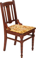 Political:Presidential Relics, William McKinley: White House Dining Room Chair.... (Total: 2 Items)