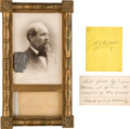 Political:Presidential Relics, President Garfield Assassination Collection Including Bullet Fired at Guiteau.... (Total: 4 Items)