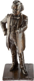 Political:3D & Other Display (1896-present), Stephen A. Douglas: Small Table-top Bronze Statue....