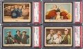 Non-Sport Cards:Singles (Pre-1950), 1959 Fleer Three Stooges PSA Graded Collection (20)....