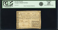 Colonial Notes:Georgia, Georgia 1776 Fractional Denominations $1/2 Fr. GA-70. PCGS VeryFine 25 Apparent.. ...
