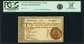 Colonial Notes:Georgia, Georgia 1776 Orange or Green Seal $1 Green Justice Seal Fr. GA-71d.PCGS Very Fine 35 Apparent.. ...