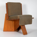 Furniture , Frank Lloyd Wright (American, 1867-1959). Dining Chair from the Clarence Sondern House, Kansas City, circa 1939. Cypress... (Total: 4 Items)
