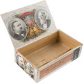 Political:3D & Other Display (pre-1896), Cleveland & Thurman: Jugate Cigar Box....