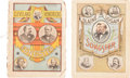 Political:Small Paper (pre-1896), Cleveland & Hendricks and Blaine & Logan: JugateSongsters.... (Total: 2 Items)