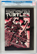 Modern Age (1980-Present):Alternative/Underground, Teenage Mutant Ninja Turtles #1 (Mirage Studios, 1984) CGC NM+ 9.6White pages....
