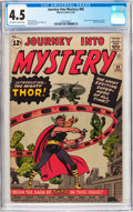 Silver Age (1956-1969):Superhero, Journey Into Mystery #83 (Marvel, 1962) CGC VG+ 4.5 Off-white to white pages....