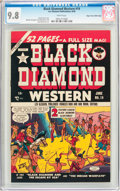 Golden Age (1938-1955):Western, Black Diamond Western #19 Mile High Pedigree (Lev Gleason, 1950)CGC NM/MT 9.8 White pages....