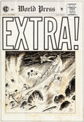 Original Comic Art:Covers, Johnny Craig Extra! #4 Cover Original Art (EC, 1955)....