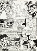 "Original Comic Art:Panel Pages, Neal Adams and Dick Giordano All-New Collector's Edition#C-56 ""Superman vs. Muhammad Ali"" Page 44 Original Art (D..."