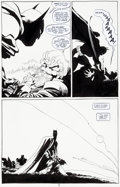 Original Comic Art:Panel Pages, Tim Sale Batman: Dark Victory #8 Page 19 Original Art (DC,2000)....