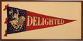 Political:3D & Other Display (1896-present), Theodore Roosevelt: Delightful Pennant....