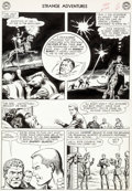 Original Comic Art:Panel Pages, Murphy Anderson Strange Adventures #144 Page 6 Original Art(DC, 1962)....