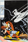 Original Comic Art:Covers, John Buscema Silver Surfer #4 Cover Recreation Original Art(undated)....