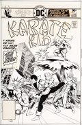 Original Comic Art:Covers, Mike Grell Karate Kid #2 Cover Original Art (DC, 1976)....