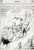 Original Comic Art:Splash Pages, Russ Heath Showcase #29 Sea Devils Splash Page Original Art(DC, 1960)....