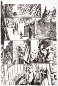 Original Comic Art:Panel Pages, Bernie Wrightson The Ghoul #3 Page 7 Original Art (IDW,2010)....