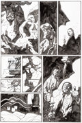 Original Comic Art:Panel Pages, Mike Mignola Hellboy: In the Chapel of Moloch Story Page 5Original Art (Dark Horse, 2008)....