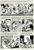 Original Comic Art:Panel Pages, Bernie Wrightson Badtime Stories Page 13 Original Art (Graphic Masters, 1972)....