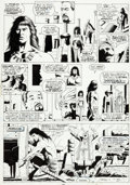 Original Comic Art:Panel Pages, Paul Gulacy and Gary Martin Marvel Graphic Novel: Conan theBarbarian: The Skull of Set Page 29 Original Art (Marv...