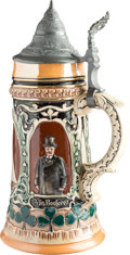 Political:3D & Other Display (1896-present), Theodore Roosevelt: Tour-de-Force Beer Stein....