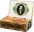 Political:3D & Other Display (1896-present), Alton B. Parker: The Chief Judge Cigar Box....