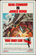 """Movie Posters:James Bond, You Only Live Twice (United Artists, 1967). One Sheet (27"""" X 41"""")Style A. James Bond.. ..."""