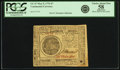 Colonial Notes:Continental Congress Issues, Continental Currency May 9, 1776 $7 Fr. CC-37. PCGS Choice AboutNew 58 Apparent.. ...