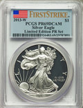 Proof Sets, 2013-S SET Set of 8 Modern Bullion Limited Edition Proof Set, First Strike, PR69 Deep Cameo PCGS... (Total: 8 coins)