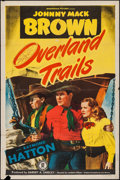 "Movie Posters:Western, Overland Trails & Others Lot (Monogram, 1948). One Sheets (3) (27"" X 41""). Western.. ... (Total: 3 Items)"