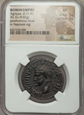 Ancients:Roman Imperial, Ancients: Marcus Agrippa, lieutenant of Augustus (died 12 BC). Æ as(9.82 gm)....