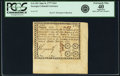 Colonial Notes:Georgia, Georgia June 8, 1777 $3/4 Fr. GA-101. PCGS Extremely Fine 40Apparent.. ...