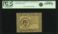Colonial Notes:Continental Congress Issues, Continental Currency September 26, 1778 $8 Blue CounterfeitDetector Fr. CC-81DT. PCGS Choice New 63PPQ.. ...