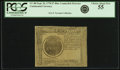 Colonial Notes:Continental Congress Issues, Continental Currency September 26, 1778 $7 Blue CounterfeitDetector Fr. CC-80DT. PCGS Choice About New 55.. ...