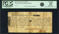 Colonial Notes:Massachusetts, Massachusetts Bay May 25, 1775 15 Shillings Fr. MA-145. PCGS VeryFine 25 Apparent.. ...