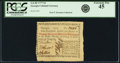 Colonial Notes:Georgia, Georgia 1777 No Resolution Date $3 Fr. GA-85. PCGS Extremely Fine45.. ...
