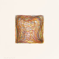 Sol LeWitt (1928-2007) Eight Small Etchings/Color, 1999 Portfolio comprising eight etchings in color