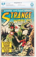 Golden Age (1938-1955):Science Fiction, Strange Worlds #3 (Avon, 1951) CBCS VG 4.0 White pages....