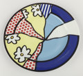 Post-War & Contemporary:Contemporary, Roy Lichtenstein (1923-1997). Water Lilies Plate, 1990.Glazed ceramic. 12 inches (30.5 cm) diameter. Ed. 2664/3000. Mar...