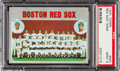 Baseball Cards:Singles (1970-Now), 1970 Topps Red Sox Team #563 PSA Mint 9....
