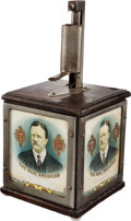 Political:3D & Other Display (1896-present), Theodore Roosevelt: Counter-top Electric Cigar Lighter....